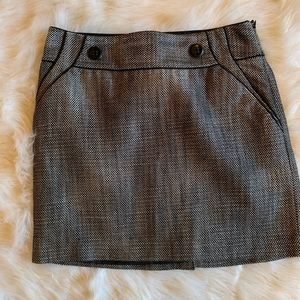 Limited black and white mini skirt- size 4